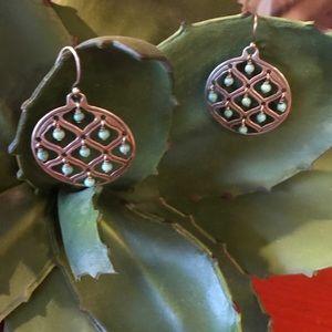 Silpada howlite earrings